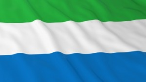 Sierra Leonean Flag HD Background - Flag of Sierra Leone